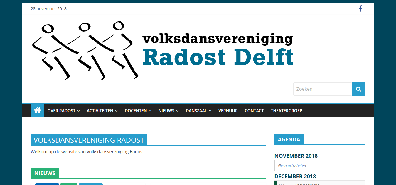 Screenshot 2018 11 28 Volksdansvereniging Radost Volksdansen in Delft